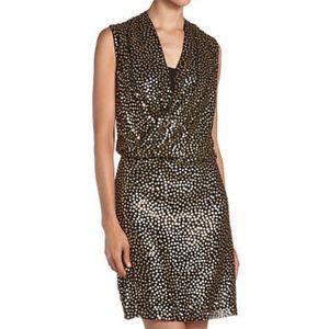 DVF Sequin Issie Dress